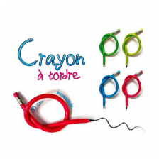 Crayon flexible